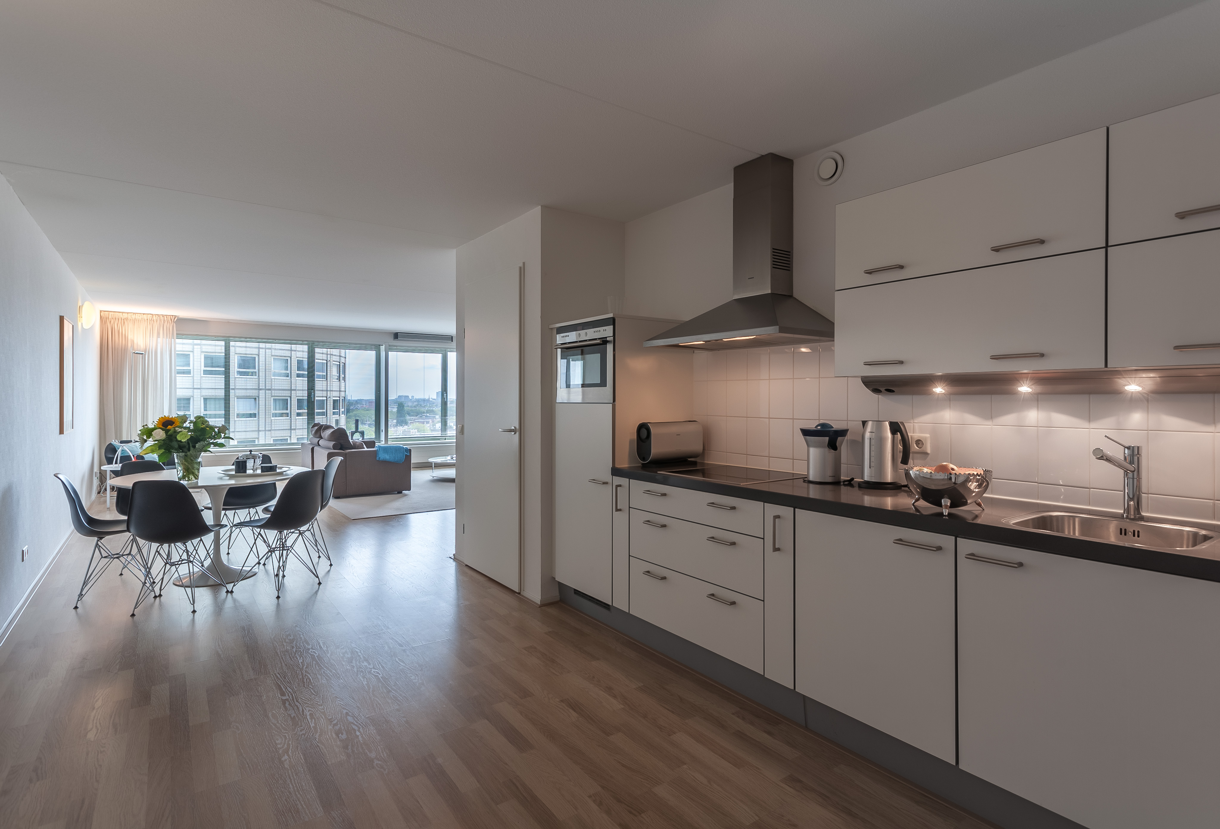 apartments for rent the-hague la fenetre kitchen