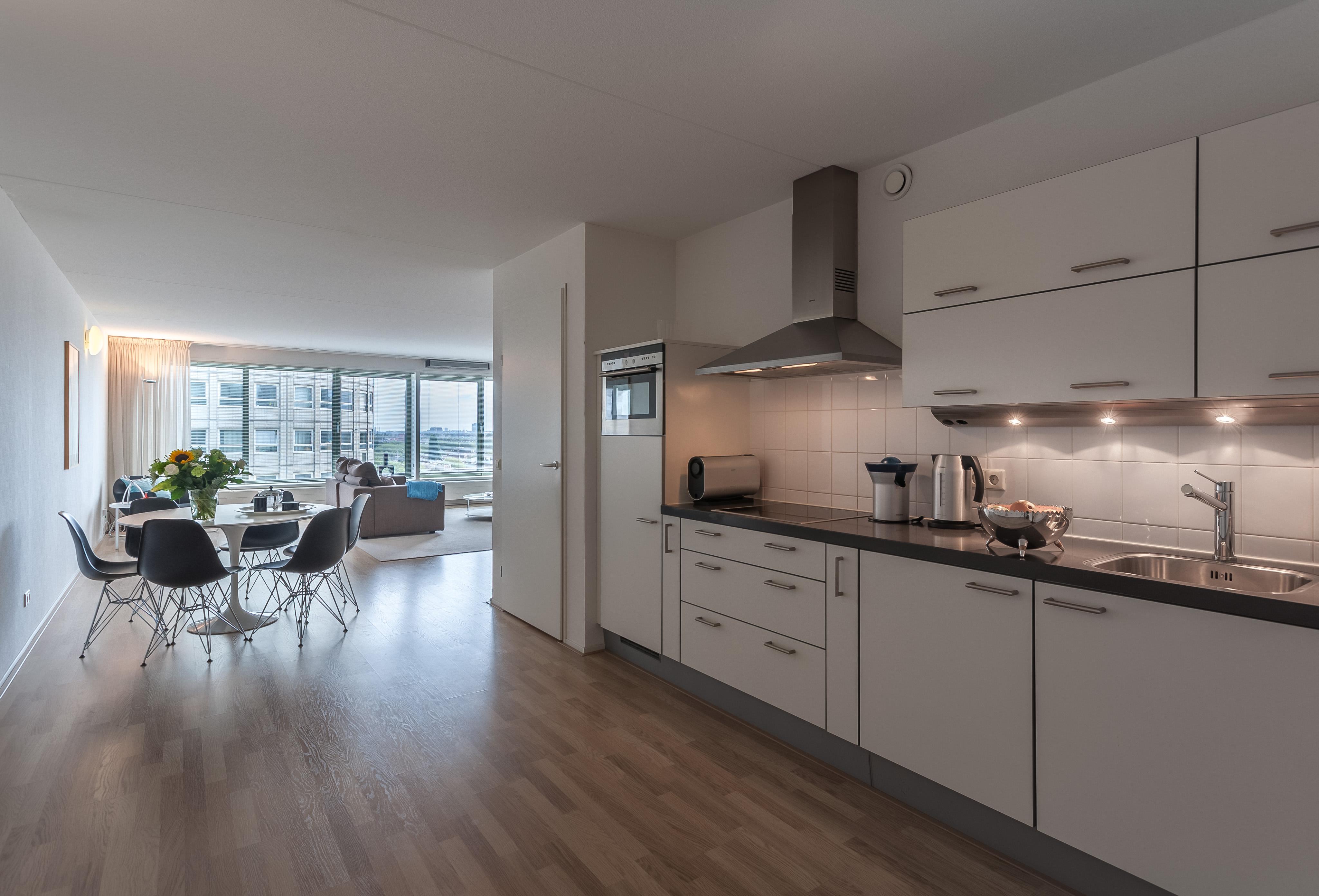 apartments for rent the-hague la fenetre kitchen